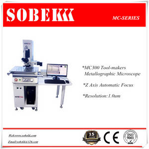 Wholesale 4.0mm lens: Sobek Metallographic Tool-Makers Microscope