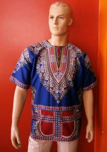 Wholesale Men's Shirts: Dashiki Shirt by So Colored Fashion