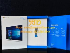Wholesale tv remote control: Windows 10 Home Retail Full Version USB 3.0 64 Bit Original Key Card Inside Activation