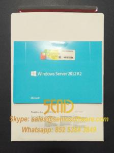 Wholesale security solution: Windows Server 2012 Standard R2 X 64- Bit OEM 2 CPU 2 VM / 5 CALS