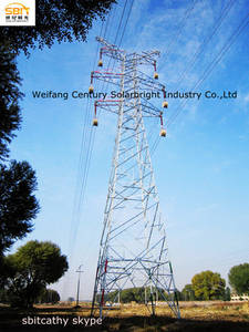 Wholesale transmission tower: 220KV  Transmission Line Steel Tower
