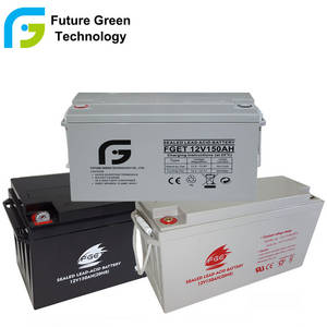 Wholesale sealed battery: 12V150ah UPS GEL Valve Regulated Solar Sealed Lead Acid Storage Battery