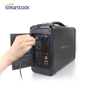 Wholesale led lighter camera: Lithium Ion Battery Portable Solar Generator for Indoor / Outdoor