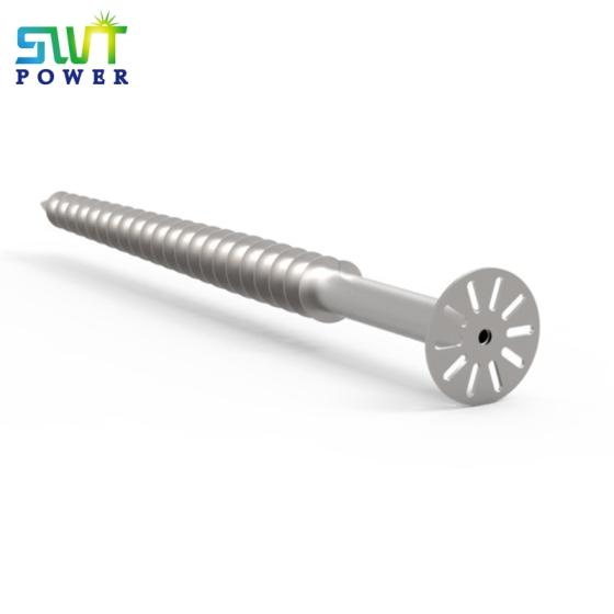 Sell Factory Solar Mounting pile aluminum screw for bracket pv