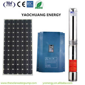 Wholesale vfd frequency drive inverter: 10HP Top Quality Solar Water Pump System China Supplier