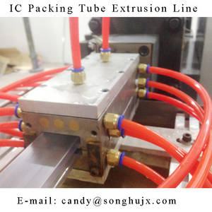 Wholesale duplex stainless steel pipe: Plastic Extrusion Line for PVC Profile IC Packing Tube