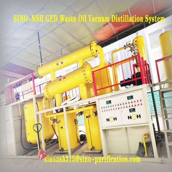 Sell NSH GED Waste Oil Vacuum Distillation System