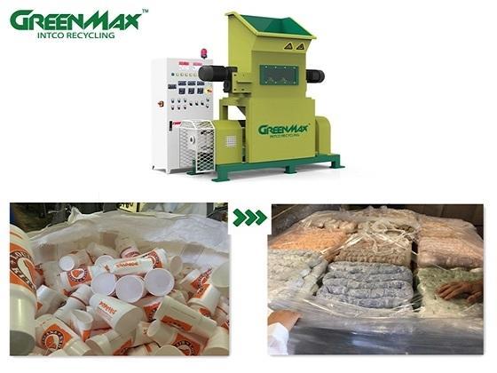 Sell GREENMAX M-C100 Styrofoam densifier