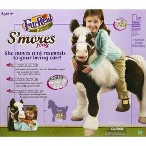Wholesale Educational Toys: Hasbro FurReal Friends Smores Life Sized Pony Ride New