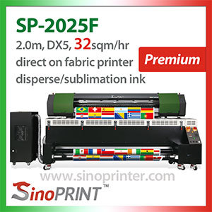 Fabric Large Format Digital Printer for Softsign and Textile (SP-2025F)