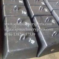 Wholesale equipment parts: China Manufacturer Supply Boat Parts and Marine Equipment Iron Cast Semi-circular Sinker 1200KG