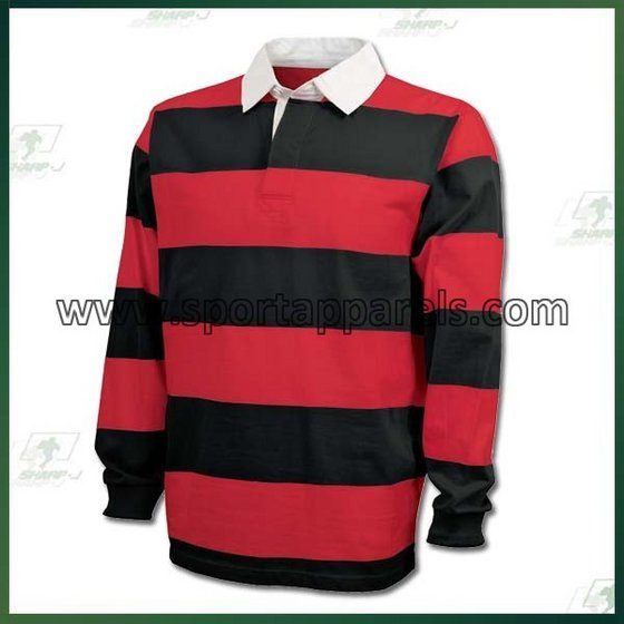 Long Sleeve Rugby Shirt RS-001