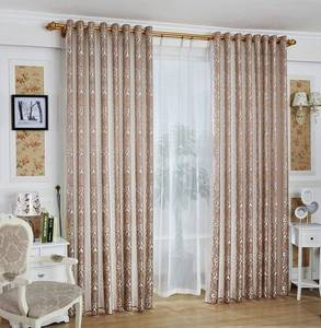 Wholesale window curtain: Jacquard Window Curtain Panel in 100% Polyester