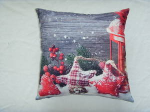 Wholesale Cushion Cover: 100% Polyester Photo-printed Cushion Cover