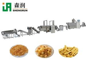 Wholesale fried snack machine: Frying Snacks Making Machine Fried Pellet Production Line