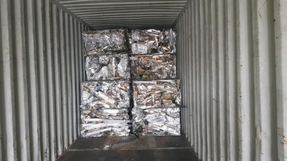 Sell Aluminum Extrusion 6063 scrap