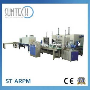 Wholesale fabric rolling machine: New Design Automatic Fabric Roll Packing Machine
