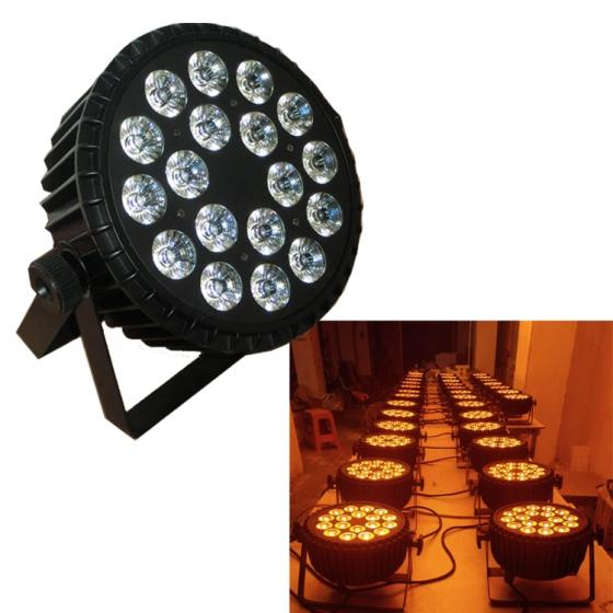 Sell 18PCS RGBWA+UV 6in1 WIFI Wall wash wedding party decoration stage light