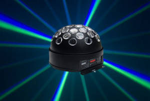 Wholesale led laser stage light: Mini RGBA LED Magic Ball,Disco Party Lighting