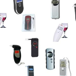 Wholesale alcohol tester: LCD Digital Display Cheap Price Alcohol Tester Breathalyzer Analyzer Detector Alcohol Breath Tester
