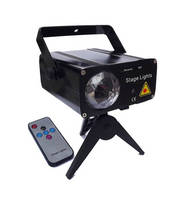RG Laser + RGB LED Stage Light with Remote Control