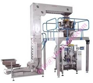 Wholesale chips packing: Combined Weighing Scale & Potato Chips Packing Machine YS-LA