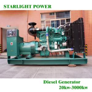 Wholesale perkins pressure sensor: Hot Sale 250kw Open Type Diesel Generator Set with Cummins Engine
