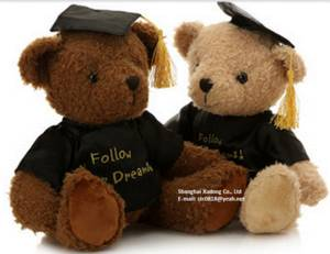 Wholesale plush toy: Graduation Gift Teddy Bear Plush Toy