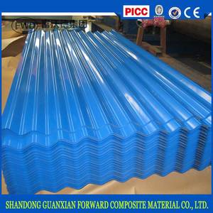 Wholesale zinc coated steel: 2017 Wholesale Color Coated Zinc Corrugated Steel Metal Roofing Sheets
