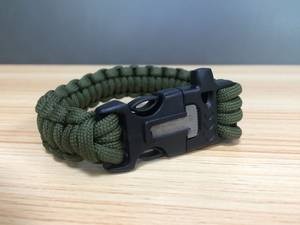 Wholesale Costume & Fashion Jewelry: Handmade Paracord Bracelet with Buckle