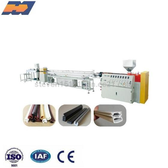 TPU TPV Seal Strip Extrusion Machine PVC Seal Strip Making Machine Profile Production Line