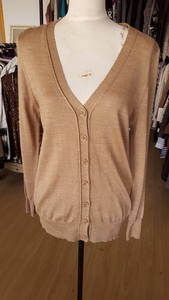 Wholesale women's pullover sweater: V Neck Cardigan