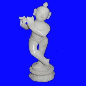 Wholesale handicrafts: Marble Krishna Statue
