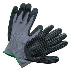 Wholesale palm coated cut gloves: Nitrile Coated Gloves