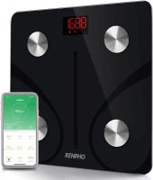 RENPHO Bluetooth Body Fat Scale Smart BMI Scale Digital Bathroom Wireless Weight Scale, Body Composi