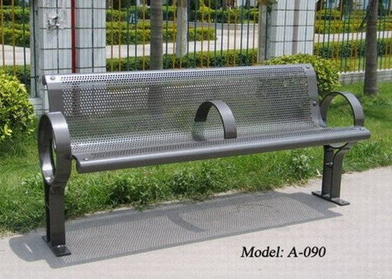 Durable Metal Park Bench Metal Outdoor Bench Id 6918099