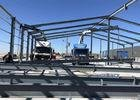 Large Project Light Steel Structure Warehouse For Construction Site Anti Seismic