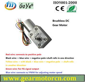 Wholesale brushless dc motor: 46mm Base Brushless Flat  DC Gear Motor