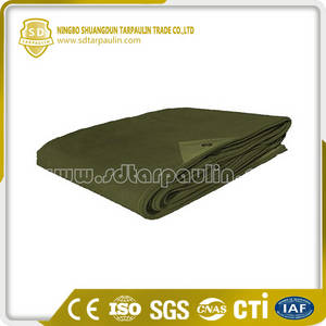 Wholesale tarpaulin canvas: Reinforced Canvas Tarp for Truck Cover