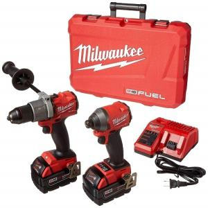 Wholesale electric hammer: Milwaukee Electric Tools 2997-22 Hammer Drill/Impact Driver Kit