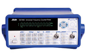 Wholesale crystal oscillators: Universal Frequency Counter/Timer/Analyzer SS7400