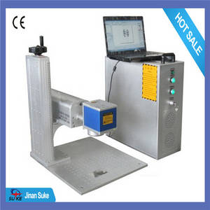Wholesale Rubber Product Making Machinery: Yag Laser Metal Marking Machine 50w/75w