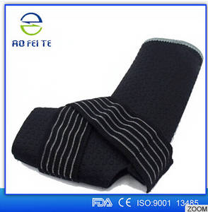 Wholesale laundry net: Factory Supplier Ankle Foot Elastic Compression Wrap Gym Support Sleeve Bandage Brace Guard