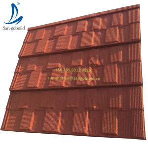 Wholesale philippines: Hot Sale Worldwide Popular Stone Coated Metal Roof Tile Price Popular in Philippines