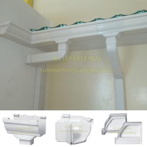 Wholesale website design company india: Chinese Factory Modern Roof Designs Rainwater Collector UV Resistant White PVC Rainwater Downspout