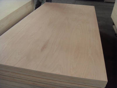Sell Red Hardwood Faced plywood