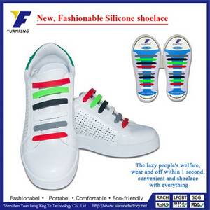 Wholesale Shoelaces: Hot Sale Customized Logo Silicone Shoelaces for Gifts