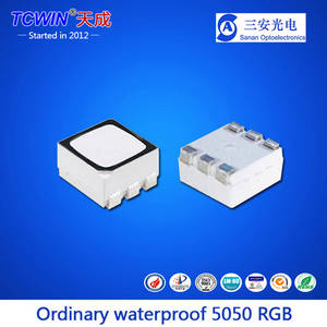 Wholesale Other LED Lighting: Moisture-proof 0.2W 5050RGB SMD LED for Outdoor LED Line Light