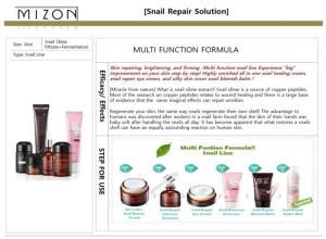 Wholesale firming eye cream: Snail Repair Solution