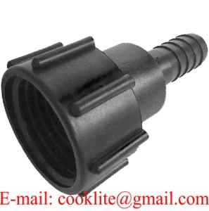 Wholesale adapter: FRPP IBC Adapter DIN 61 Adaptor with 1 Hose Barb